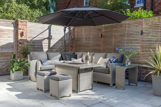 Kettler outdoor living furniture available from Haddenham Garden Centre, Buckinghamshire