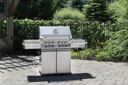 Napoleon BBQ range available from Haddenham Garden Centre