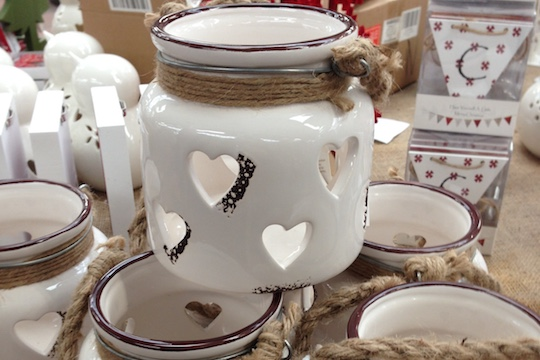 Homeware and gifts available from Haddenham Garden Centre