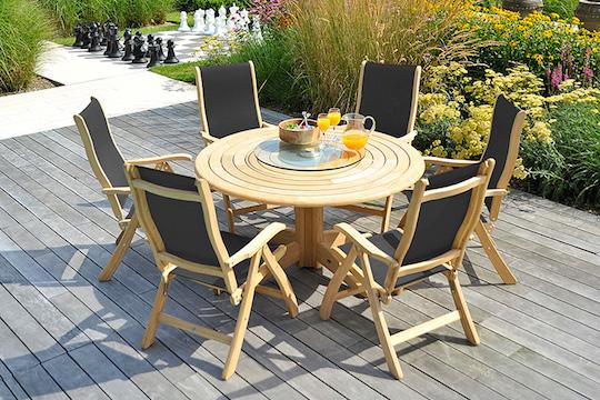 Alexander Rose garden furniture available from Haddenham Garden Centre, Buckinghamshire