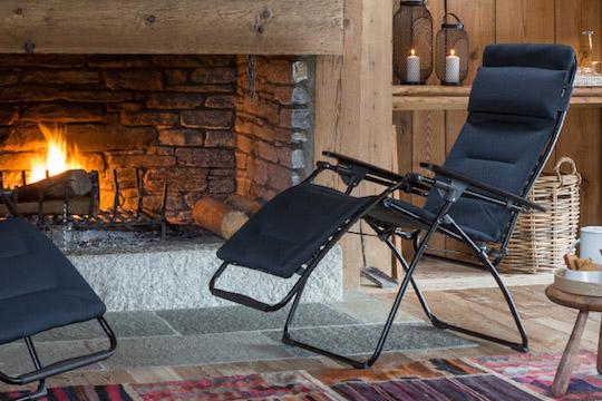 Lafuma outdoor living garden furniture available from Haddenham Garden Centre, Buckinghamshire