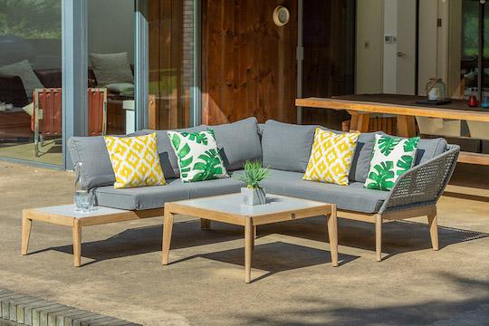 Leisuregrow outdoor living garden furniture available from Haddenham Garden Centre, Buckinghamshire