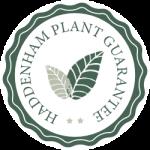 Haddenham Garden Centre plant guarantee logo